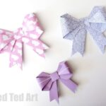 Origami Paper Bows – GORGEOUS GIFT WRAP IDEA!