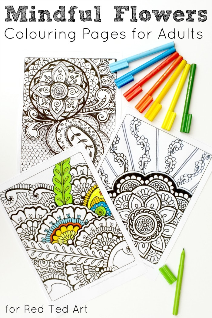 Colouring for Grown Ups Dreams Matter Red Ted Art 39 s Blog