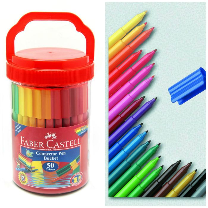Great colouring pens for kids - faber castell - Red Ted Art\'s Blog