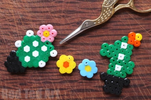 Hama Bead Cactus Pattern