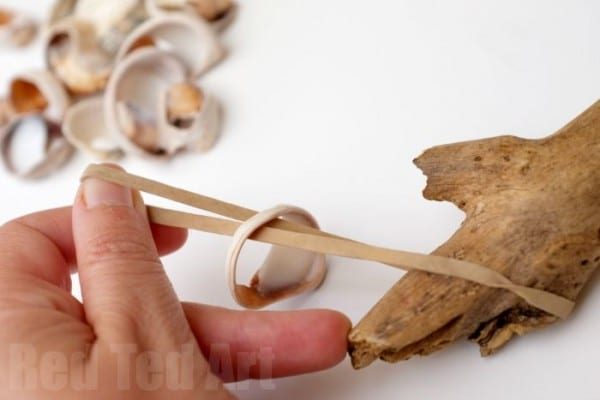 Making Natural Musical Instruments using sticks and shells