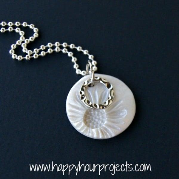Sunflower Necklace 1