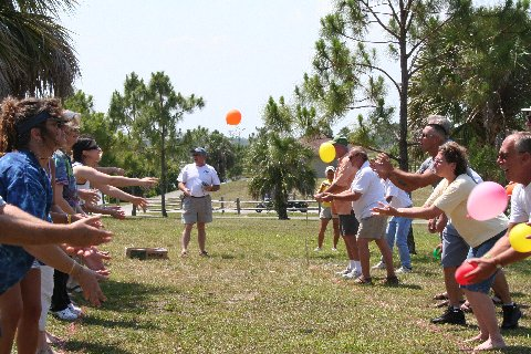 Water balloon toss 4