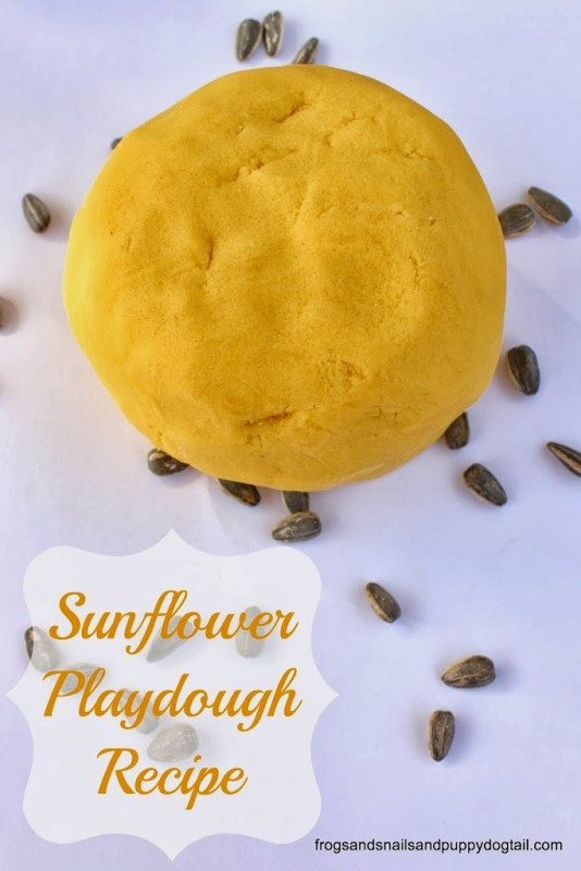 sunflowerplaydough