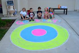water balloon target practice game