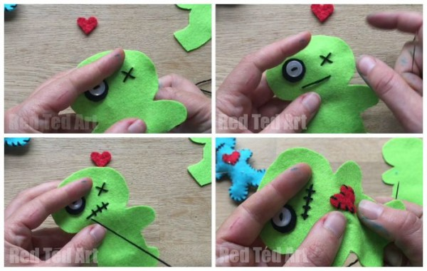 DIY Voodoo Pincushion - too cute!