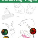 Woodland Colouring Pages (Free)