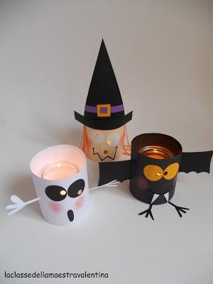 Easy Toilet Paper Roll Halloween Crafts - brilliant TP Roll Halloween Crafts for kids #halloween #crafts #toiletpaperrolls