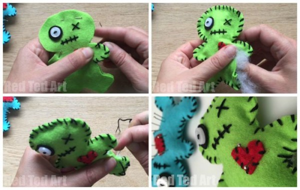 Make your own Voodoo pin cushions