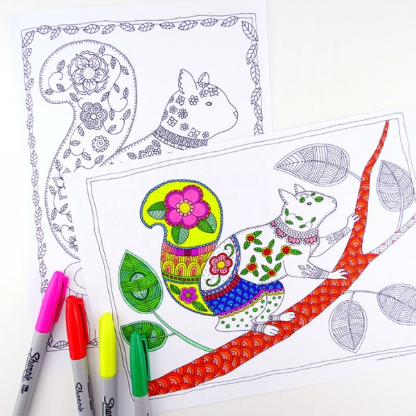 Love Colouring Check Out These Wonderful Pages For Grown Ups