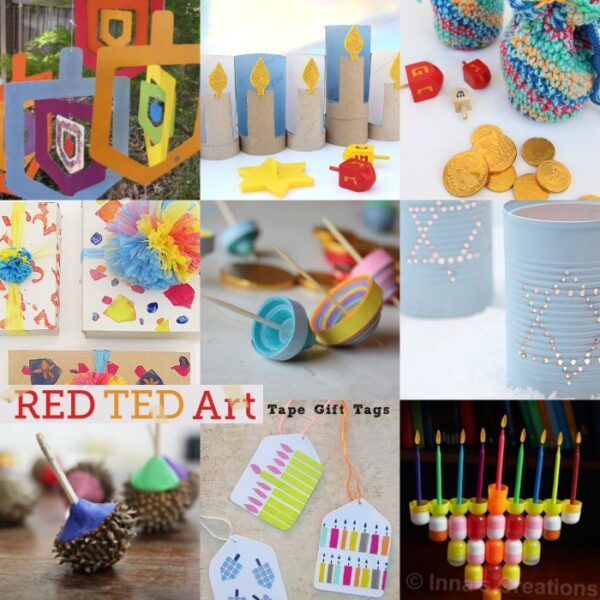 Hanukkah crafts for adults for Menorah arts and crafts