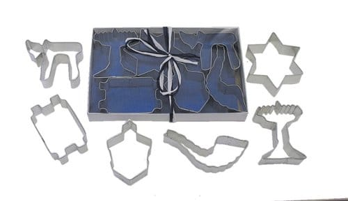jewish holiday cookie cutter set