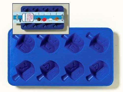 dreidel ice cube mold
