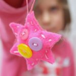Sewing for Kids: Button Star Ornaments
