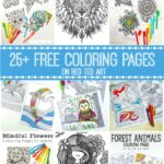 Free Coloring Pages for Adults – 25+ Gorgeous Sets to Choose From