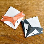 badger crafts - simple paper bookmark - bookmark making ideas