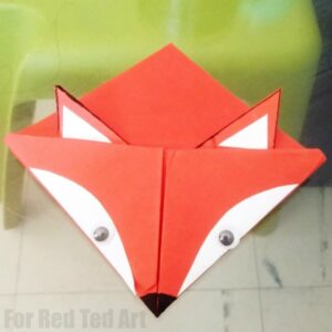 Fox Corner Bookmark