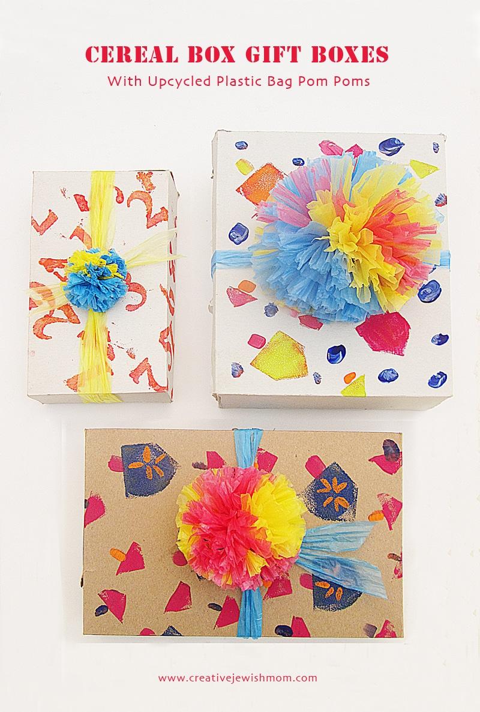 hanukkah gift box and decorating DIY ideas