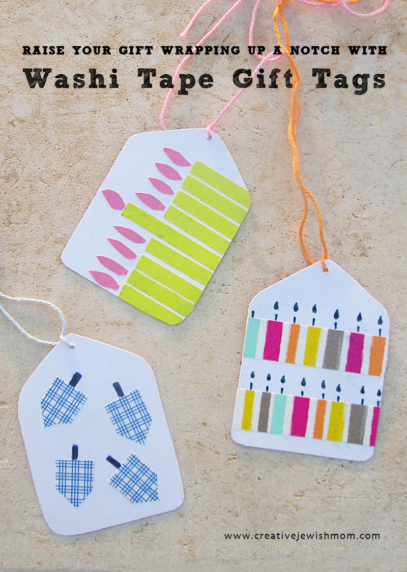 hanukkah gift tags crafts for kids