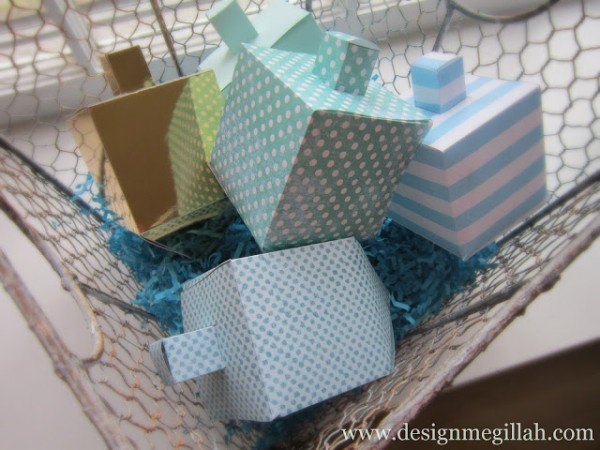 paper dreidel template for hanukkah