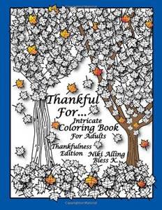 thanksgiving coloring book for grown ups