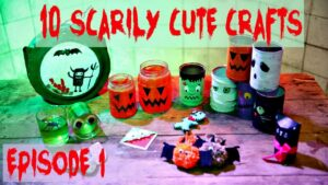 10 Scarily Cute Crafts for Halloween