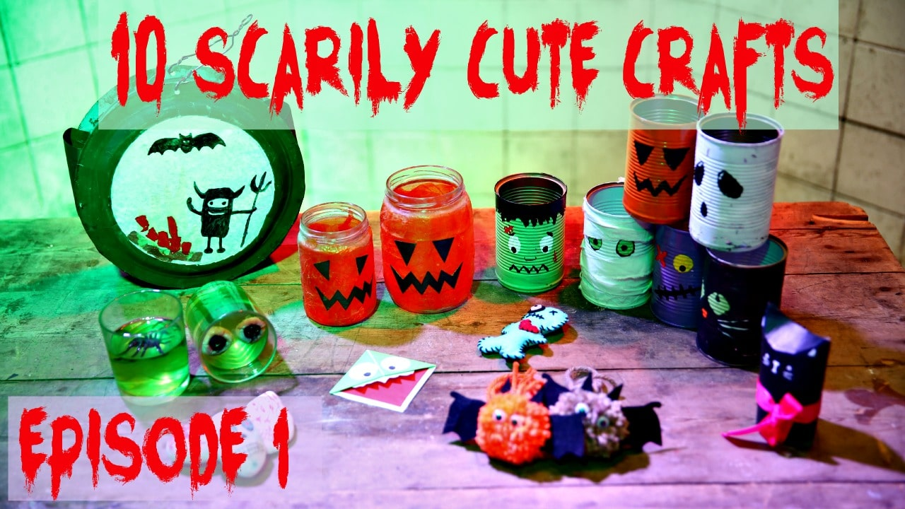 10 Scarily Cute Halloween Crafts (Part 1)