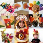 20+ Turkey Crafts for Thanksgiving