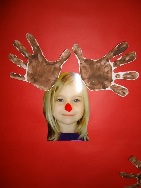 Christmas Handprint & Footprint Crafts (Keepsakes) - Red Ted Art's ...
