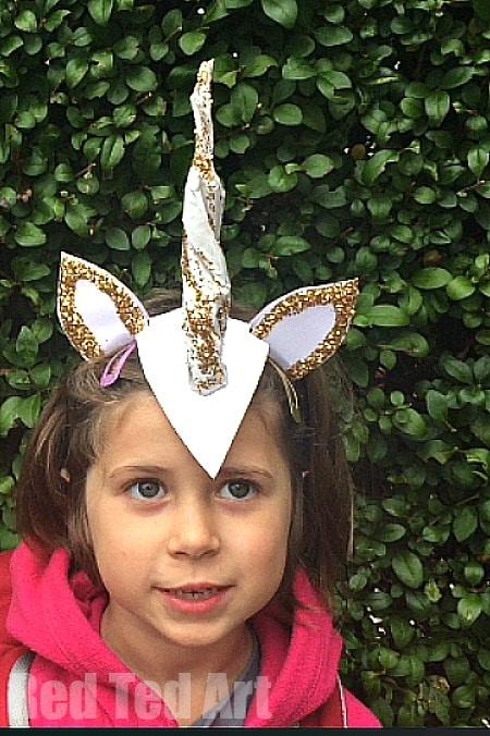 DIY Unicorn Horn & Costume Idea for Halloween