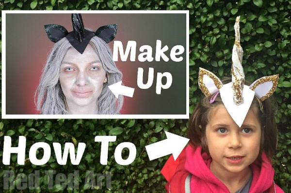 DIY Unicorn Horn and Costume Idea for Halloween