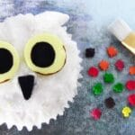 Harry Potter Ideas – Hedwig Owl Cupcakes