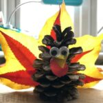 Autumn Leaf Pine Cone Turkey