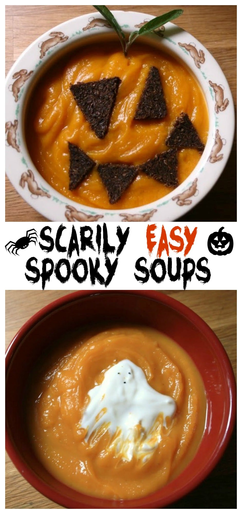 Healthy Spooky Meal for Halloween