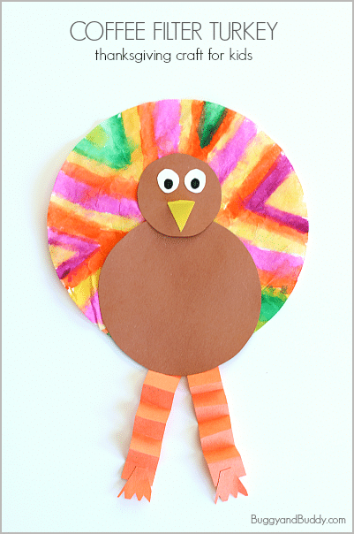 coffee-Filter-Turkey-Thanks-Giving-Craft