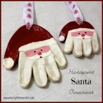 handprint Santa Crafts For Kids. Santa Craft For Kids #Santa #Santacrafts #santadiy #santadiys #crafts #craftsforkids #Christmas #fatherchristmas