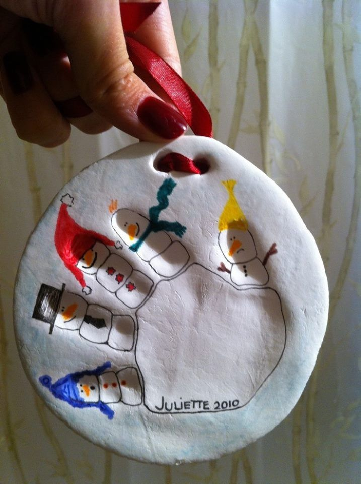 How to Make Salt Dough Handprints