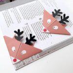 Reindeer Bookmarks – Cute & Easy Origami for Kids