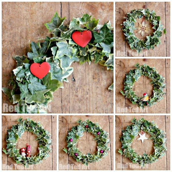 Super Simple & Quick Wreath How To - one wreath lots of details