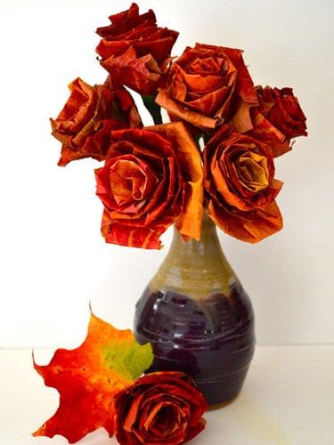 leaf roses