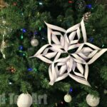 3D Paper Snowflakes How To