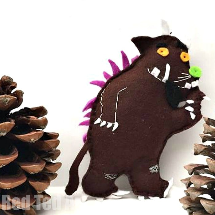 Gruffalo Felt Toy/ Ornament