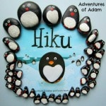 Hiku and homemade penguins