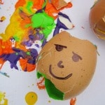 Humpty Dumpty Egg Splat Painting