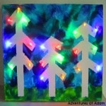 Light Up Tree Canvas