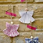 Paper Angel Ornament DIY