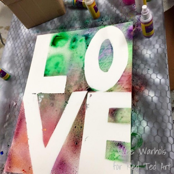 Valentines Crafts for Kids - Resist Art (3)