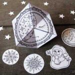 Paper Toys: Flextangles for Christmas & Winter