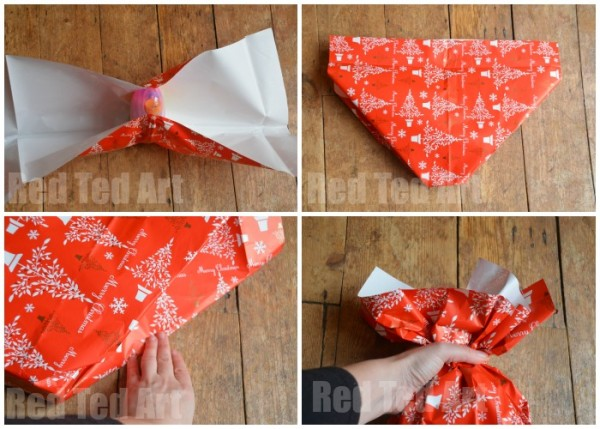 Wrapping Awkward Shapes - Share the Magic of Giving
