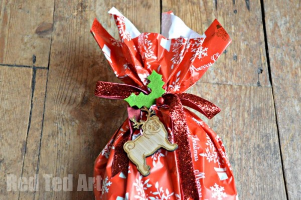 Wrapping Awkward Shapes for Charity - Share the Magic of Giving
